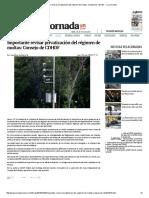 Importante Revisar Privatización Del Régimen de Multas_ Consejo de CDHDF — La Jornada
