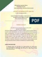 XIII Seminario Argentino Chileno CIRCULAR