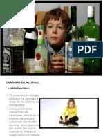Consumo de Alcohol de Niños