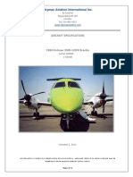 .2011 Aircraft Specifications Emb 120