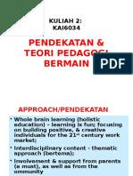 Pendekatan Pedagogi Bermain (1)