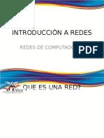 Redes Introduccion