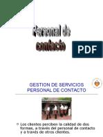 Personal de Contacto