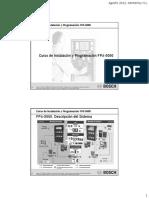 Curso de Instalación y Programación FPA-5000