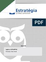 PDF Mpog Area Planejamento e Orcamento e Ti Ingles p Apompog Aula 00