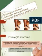 Fisiologia Materna
