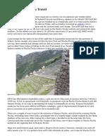 Alive Machu Picchu Travel