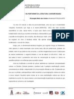 SANTOS, Elizangela Maria Dos - A Marginalidade Na Performática Literatura Contemporânea