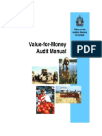 Value for Money Audit