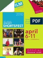 Aspen Shortsfest Official Program