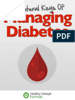 The 6 Natural Keys Of Managing Diabetes