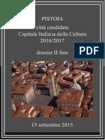 Dossier II Pistoia Capitale cultura