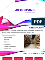 6 .Warehousing