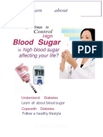 Diabetes Ebook:5 steps to control high blood sugar