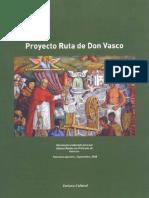 Proyecto Ruta de Don Vasco
