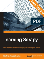 Learning Scrapy - Sample Chapter