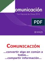 Comunicacion Foro 2014