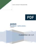 Cuaderno Judo