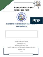 SISTEMAS DE PROTECCIÓN CONTRA DESCARGAS ATMOSFÉRICAS EN EL DISTRITO DE EL TAMBO - HUANCAYO