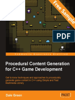 Procedural Content Generation for C++ Game Development - Sample Chapter