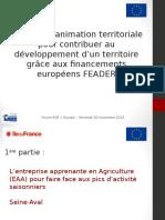 Atelier 8 - Financements FAEDER - Région 2