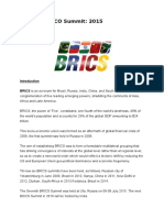 Brics and Sco Summit