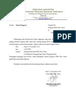 Surat Rapat PPNI