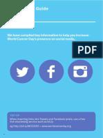 WCD2015 Social Media Guide
