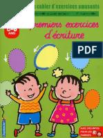 [Education] Enfant - Activite - Cahier D'Exercices - Premiers Exercices D'Ecriture - Maternelle Grande Section (5-6 Ans)