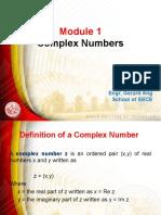 Advanced Engg Math Module 1