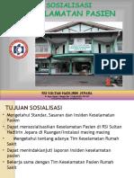 Materi Sosialisasi Pasien Safety 17092015