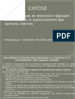 Les Normes Et Restrictions Regissant La Conduite Et