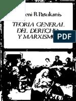 Evgeny B. Pashukanis, Teoría General Del Derecho y Marxismo OCRed