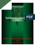 Radiodiagnosticul tubului digestiv