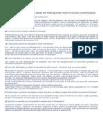 Ponderações Sobre a Rede de Franquias Instituto Da Constrção