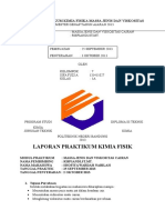 Laporan Prakimfis Mj Visko