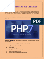 PHP 7 – GO AHEAD AND UPGRADE!