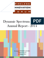 Dynamic Spectrum Sharing Annual Report 2014