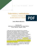 Television Melodrama y Su Influencia en La Identidad