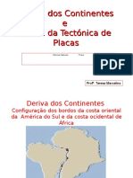 Deriva Continentes Tectonica Placas - 7º Ano