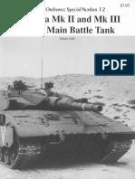 Museum Ordnance Special 12 Merkava Mk II and Mk III Israeli Main Battle Tank