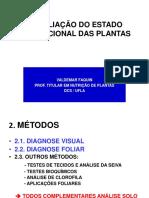 Diagnose Visual - Descrição Dos Sintomas