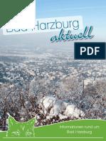 BadHarzburg aktuell Februar/März 2016