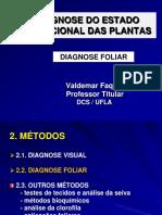 Gcs 110 Diagnose Foliar- Aula Teórica