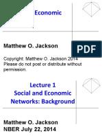 Jackson Nber Slides2014lecture1 140729132330 Phpapp02