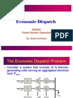Lec2 Economic DispatchI