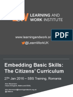 sbs training romania citizens curriculum