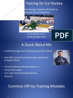 Strength Training for Ice Hockey