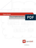 OpenStack Admin Guide Cloud