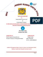 reshearch report of SBI for MBA